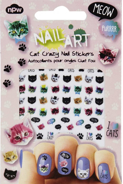 Nail Art Gatos