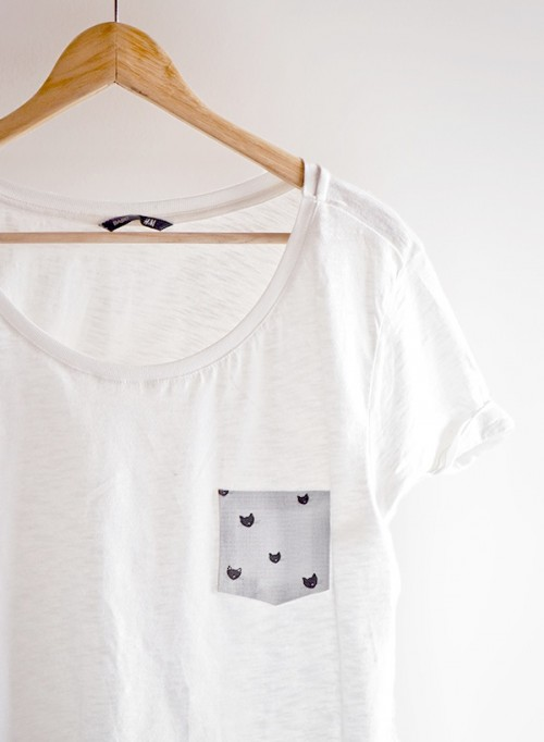 camiseta gatos diy 7