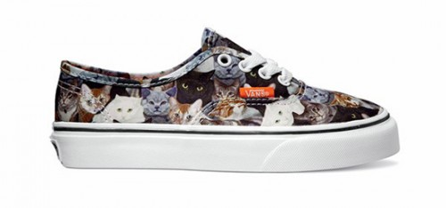 vans zapatillas gatos 2
